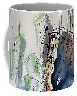 Coffee Mug featuring the painting Uptown by Robert Joyner
