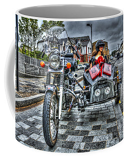 Ural Wolf 750 And Sidecar Coffee Mug