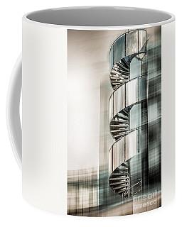 Urban Drill - Cyan Coffee Mug