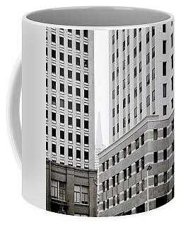 Urban San Francisco Coffee Mug by Shaun Higson