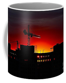 Urban Sunrise Coffee Mug by Linda Bianic