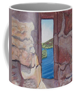 Archers' Window Urquhart Ruins Loch Ness Coffee Mug