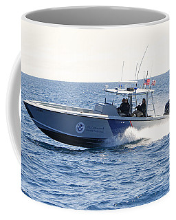 Us Customs At Work Coffee Mug by Shoal Hollingsworth