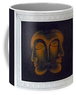 Coffee Mug featuring the painting Us by Fei A