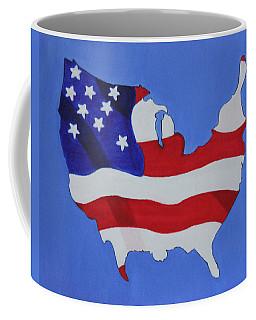 Us Flag Coffee Mug