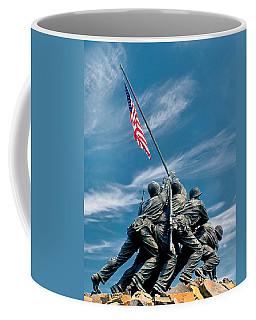 Us Marine Corps War Memorial Coffee Mug