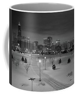 Usa, Illinois, Chicago, Skyline Coffee Mug