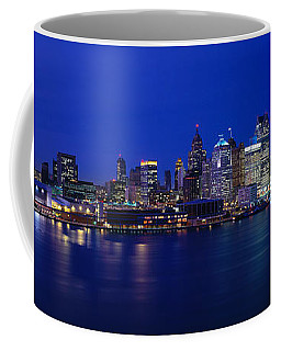 Usa, Michigan, Detroit, Night Coffee Mug