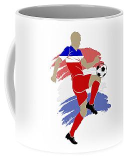 Usa Soccer Player Coffee Mug