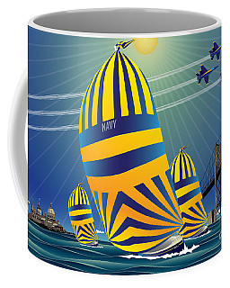 Usna High Noon Sail Coffee Mug