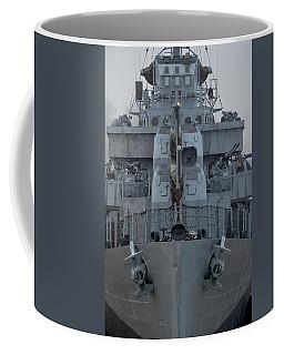 Uss Kidd Dd 661 Front View Coffee Mug