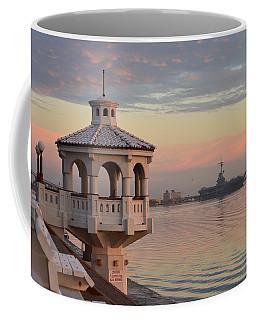 Uss Lexington At Sunrise Coffee Mug