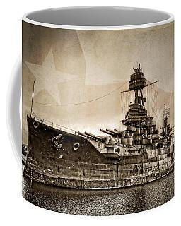 U.s.s. Texas Coffee Mug