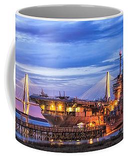 Uss Yorktown Museum Coffee Mug by Jerry Fornarotto