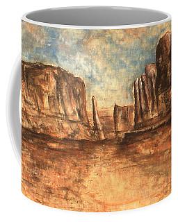 Utah Red Rocks - Landscape Art Painting Coffee Mug