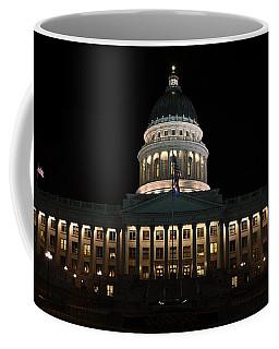 Utah State Capitol Front Coffee Mug