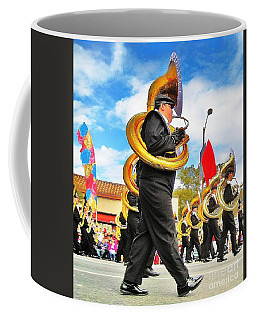 Utimate Tuba Dude At The Rose Parade Coffee Mug