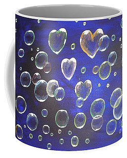 Valentine Bubbles Coffee Mug
