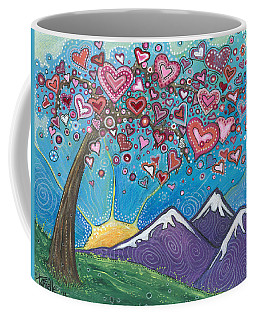 Valentine Wishes Coffee Mug