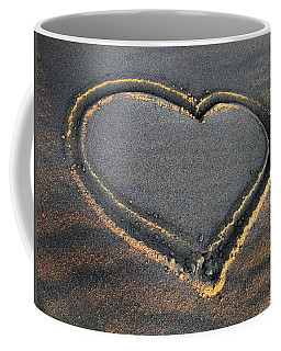 Valentine's Day - Sand Heart Coffee Mug