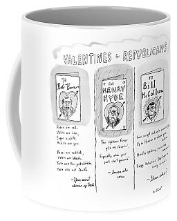'valentines For Republicans' Coffee Mug