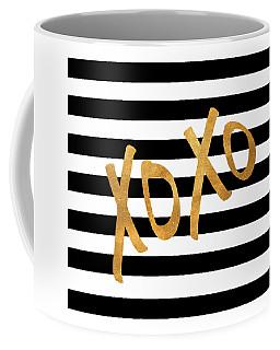 Valentines Stripes IIi Coffee Mug