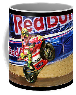 Valentino Rossi Ducati Coffee Mug