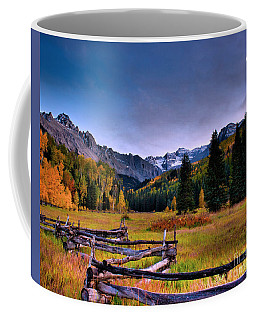 Valley Of Mt Sneffels Coffee Mug
