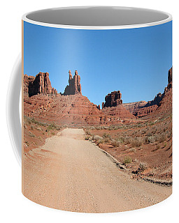 Coffee Mug featuring the photograph Valley Of The Gods by Susan Leonard