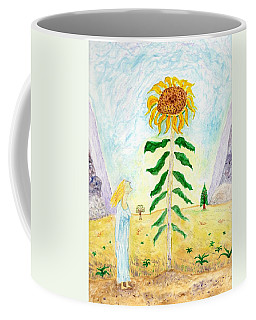 Valley Of The Mammoth Sunflowers Coffee Mug