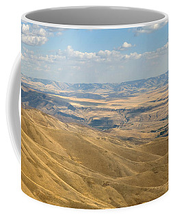 Coffee Mug featuring the photograph Valley View by Mark Greenberg