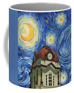 Van Gogh Courthouse Coffee Mug