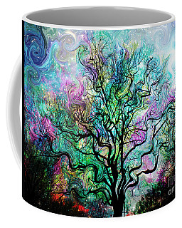 Van Gogh's Aurora Borealis Coffee Mug