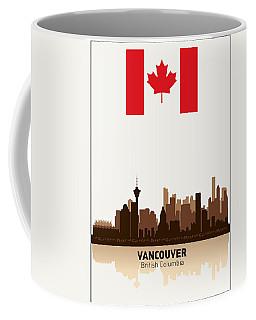 Vancouver British Columbia Canada Coffee Mug