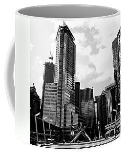Vancouver Olympic Cauldron- Black And White Photography Coffee Mug