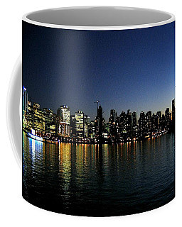 Coffee Mug featuring the photograph Vancouver Skyline by Will Borden