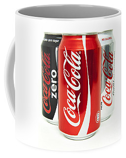 Various Coke Cola Cans Coffee Mug