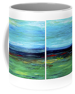 Vast Horizon Coffee Mug by Dick Bourgault