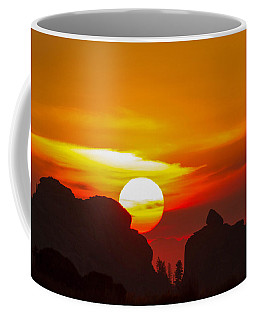 Vedauwoo By Sunrise Coffee Mug
