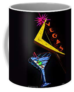 Vegas Martini Coffee Mug by Gary Warnimont