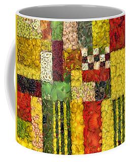 Vegetable Abstract Coffee Mug