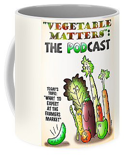Vegetable Matters The Podcast Coffee Mug