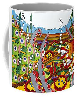 Vegetarians And Meat Eaters Coffee Mug