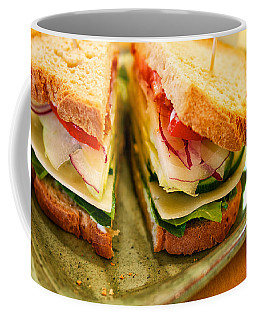 Veggie Sandwich Coffee Mug