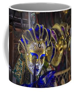 Venetian Carnival Masks Cadiz Spain Coffee Mug by Pablo Avanzini