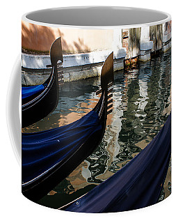 Venetian Gondolas Coffee Mug by Georgia Mizuleva