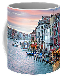 Venetian Sunset Coffee Mug by Delphimages Photo Creations