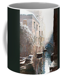 Venezia Sotto La Neve Coffee Mug