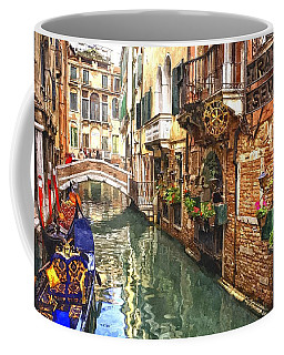 Venice Canal Serenity Coffee Mug by Gianfranco Weiss