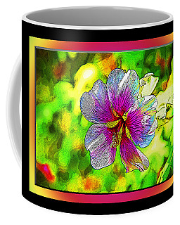 Venice Flower - Framed Coffee Mug